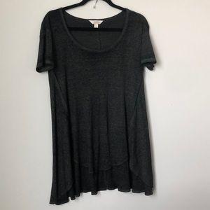 Sun & Shadow high-low t shirt